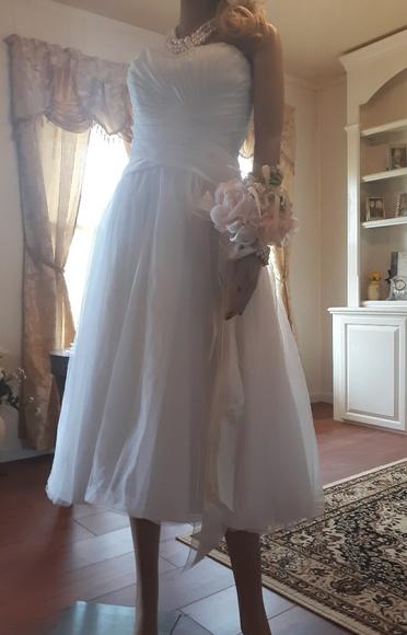 David's Bridal Dresses & Skirts - Tea length gown